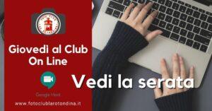 foto-club-la-rotondina-la-registrazione-del-club-del-giovedi-on-line